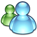 AQUA ICONS APPLICATIONS MS MESSENGER.png