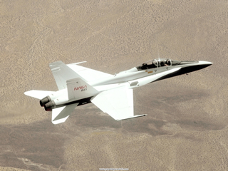 F-18 SRA in flight.jpg