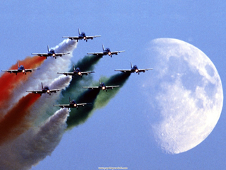 Frecce Tricolori, Italian Air Force Aerobatic Team.jpg