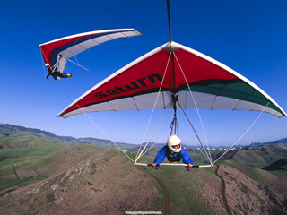 Gliding over the Mountains, Cayucos, California.jpg